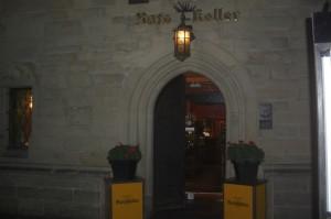 Ratskeller Eingang