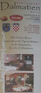 Restaurant Dalmatien Melle